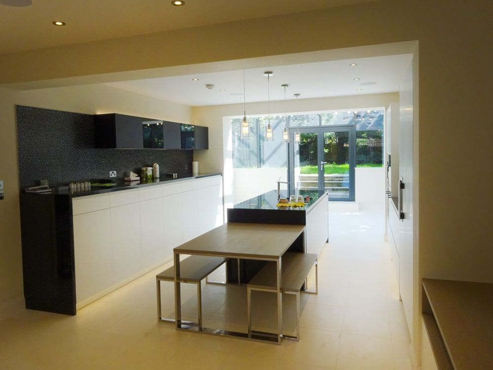 Rear house extension in Wimbledon