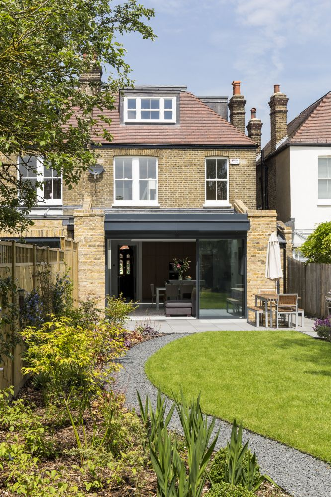 Rear house kitchen extension in Dulwich, London