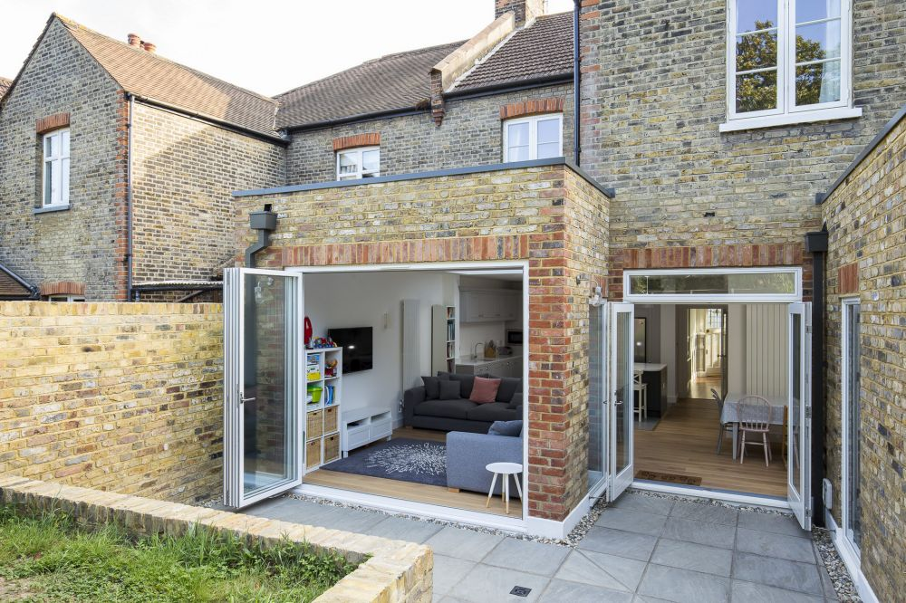 Loft conversion and rear house extension in Herne Hill, London