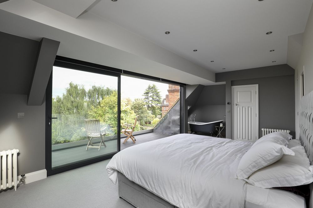 Loft conversion in Denmark Hill, London