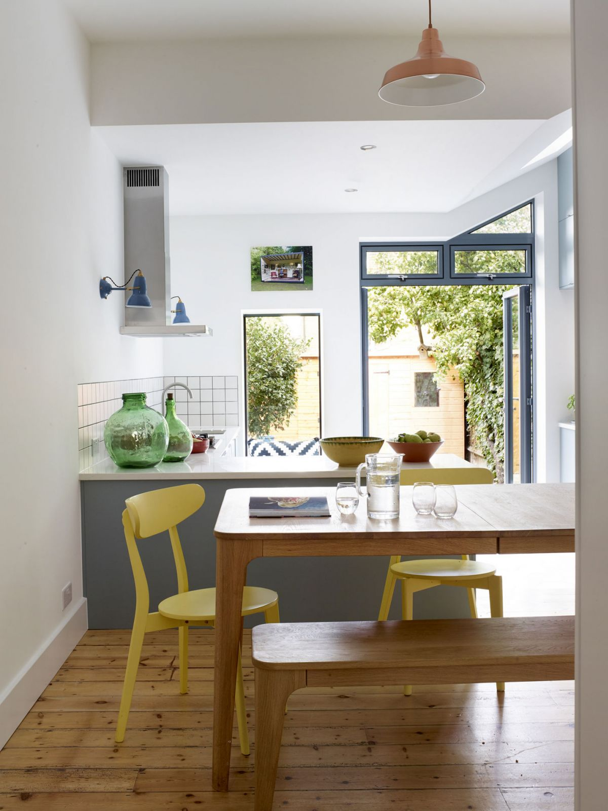 Rear house kitchen extension in Waveney Ave, London | Building ...