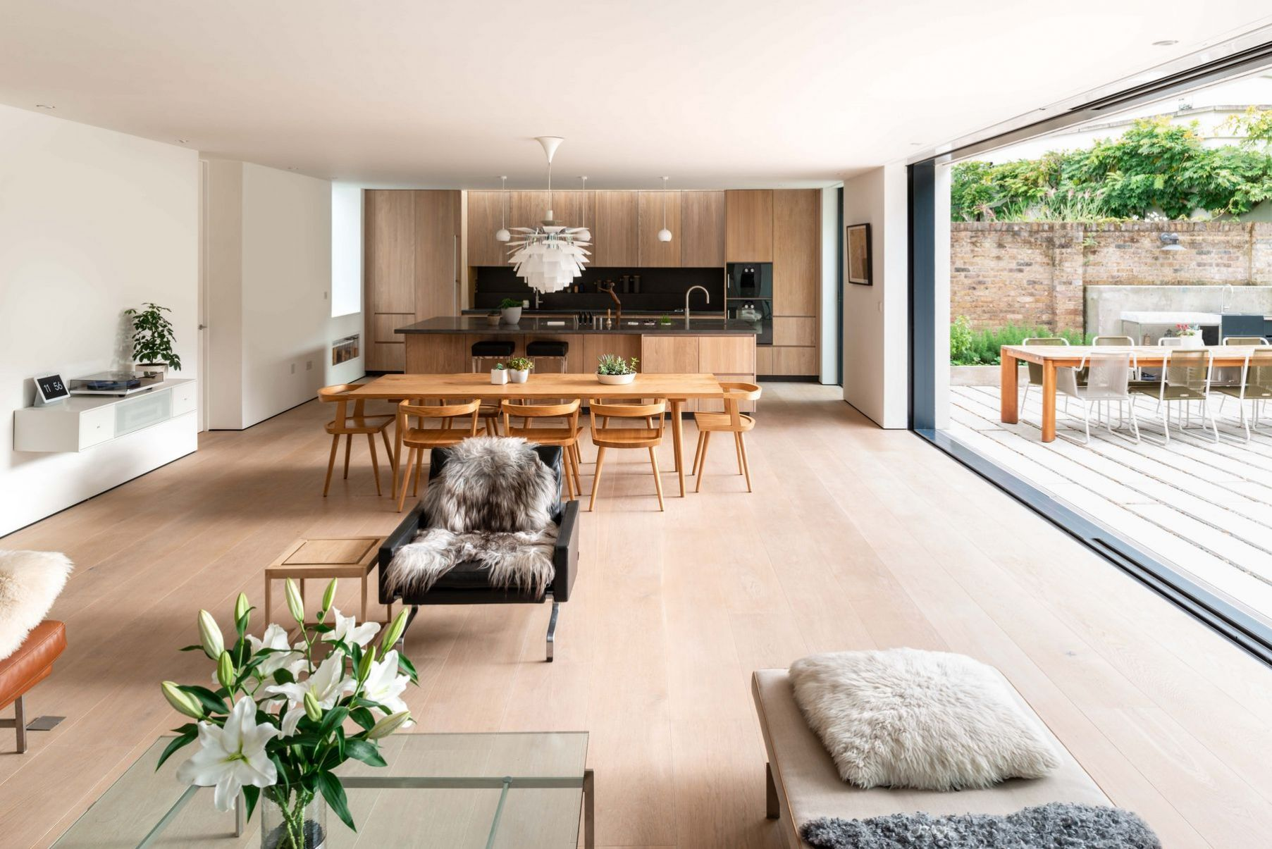 New build house with basement in Dulwich, London